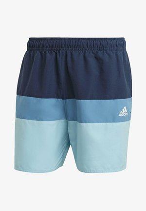 SHORT-LENGTH COLORBLOCK SWIM SHORTS - Bañador - blue