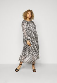 Kaffe Curve - KCBANE DRESS - Day dress - black - 1
