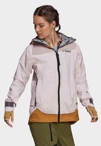 adidas Performance - TERREX MYSHELTER GORE TEX - Training jacket - pink - 3