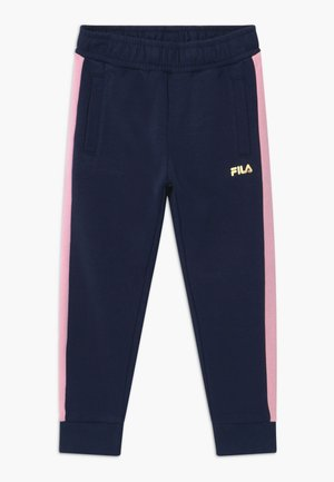 MARIA TRACK PANTS - Pantalon classique - black iris/lilac sachet