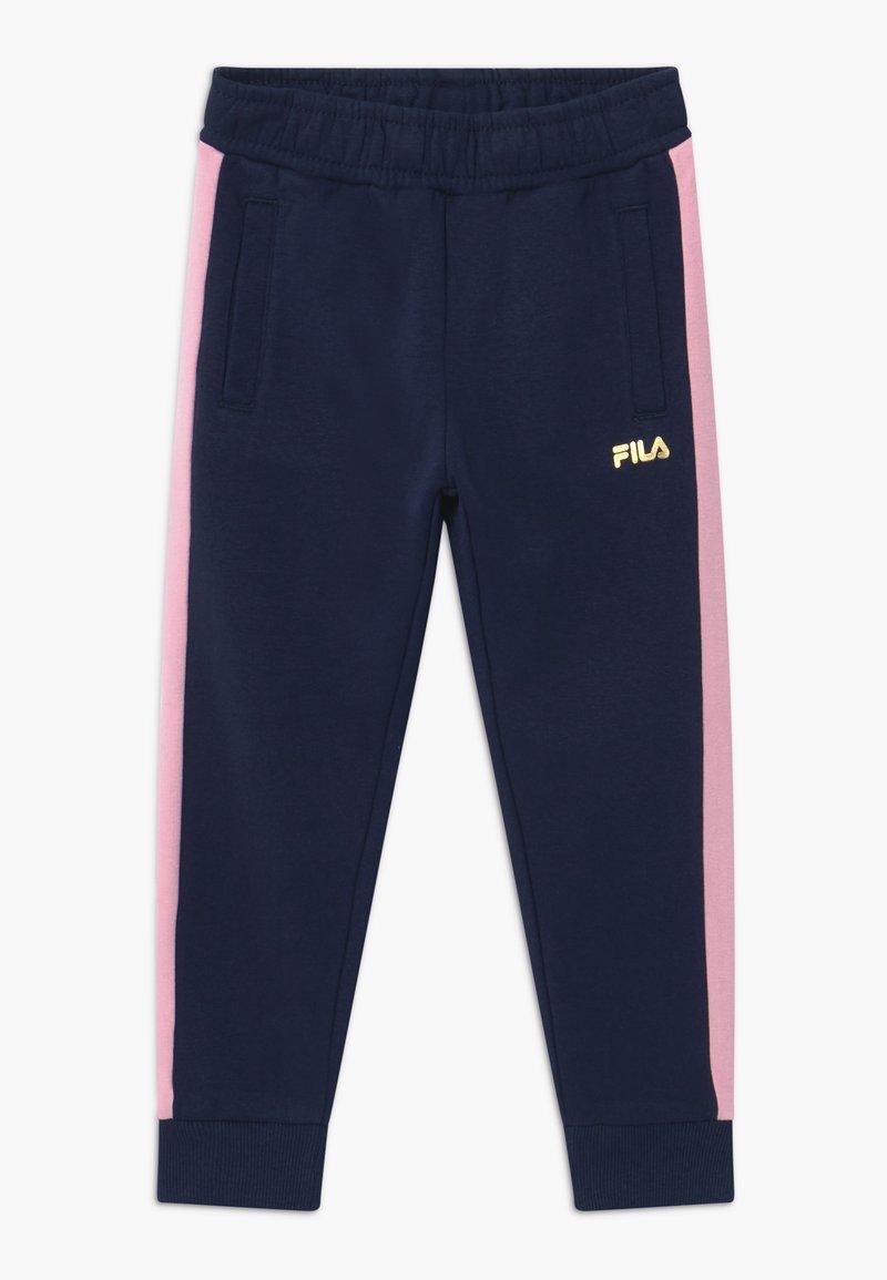 Fila - MARIA TRACK PANTS - Kalhoty - black iris/lilac sachet