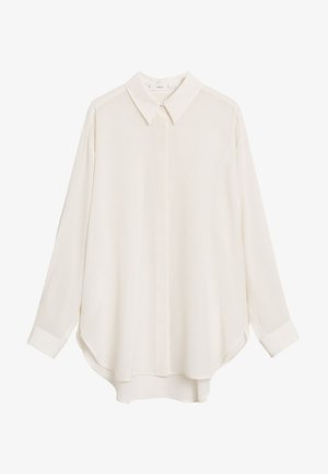 MADE - Button-down blouse - cremeweiß