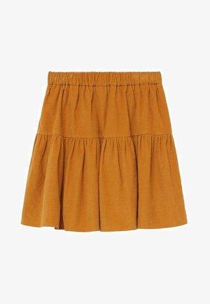 PANITA - A-line skirt - mosterd