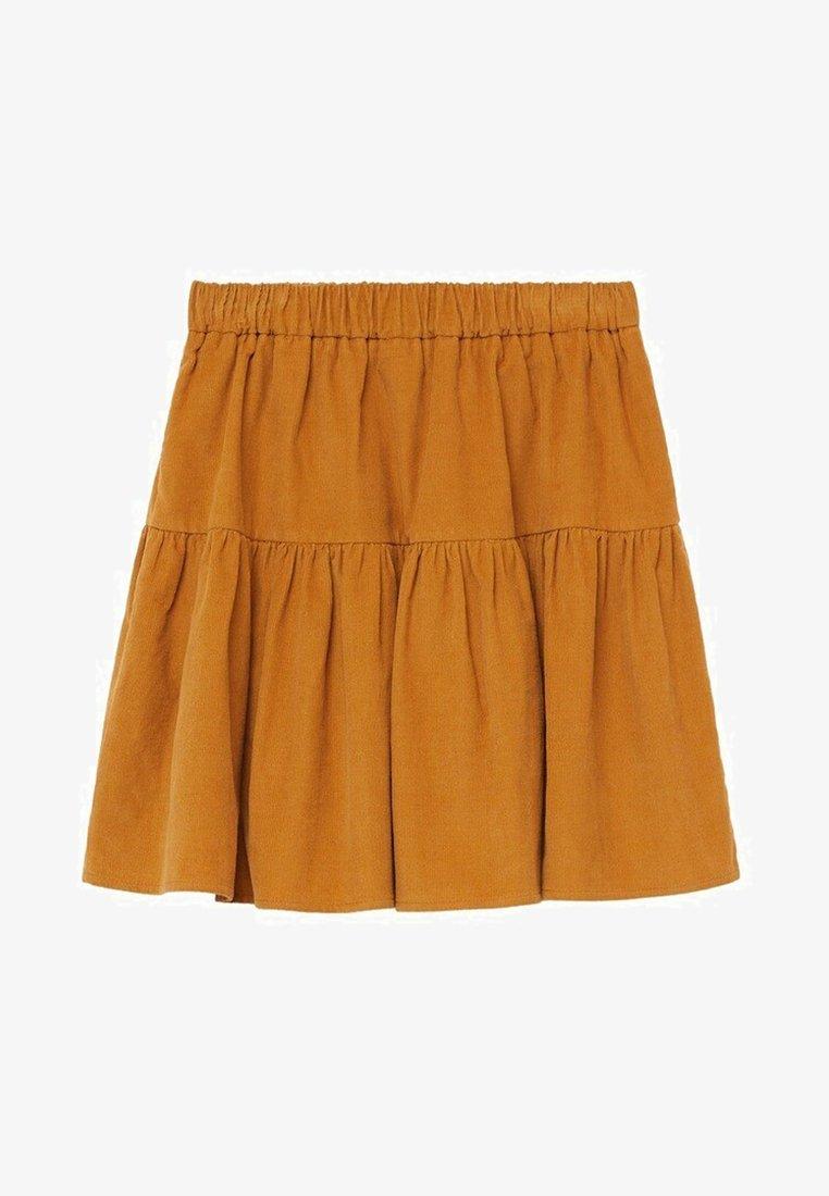 Mango - PANITA - A-line skirt - mosterd