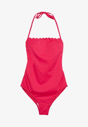 KYOTO ONE PIECE MATERNITY BATHING SUIT WITH FIXED PADS - Swimsuit - fuchsia