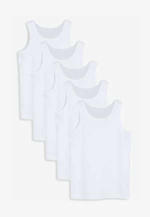 5 PACK  - Top - white