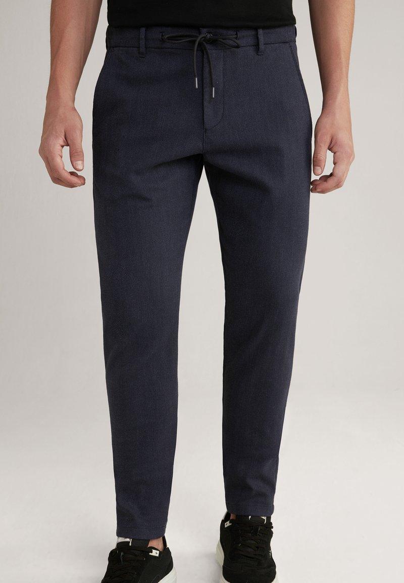 JOOP! Jeans - MAXTON - Chinos - anthrazit gemustert