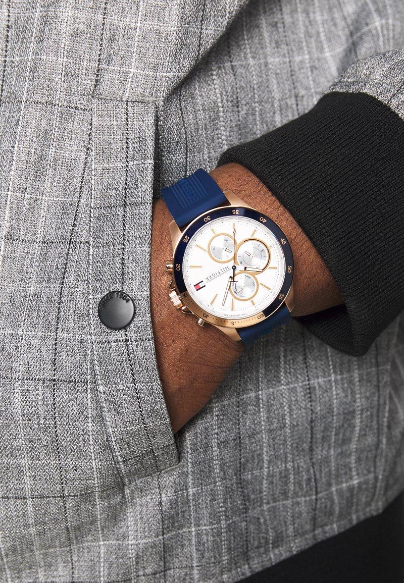 Tommy Hilfiger - BANK - Watch - blau
