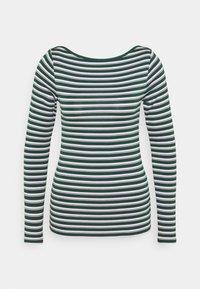 GAP - BATEAU - Langærmede T-shirts - green stripe - 4