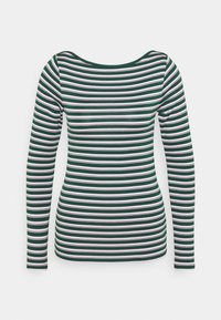 GAP - BATEAU - Long sleeved top - green stripe - 4