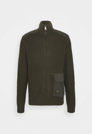 WALKER HALF ZIP - Sweter - cypress