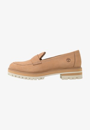 LONDON SQUARE - Slip-ons - light brown