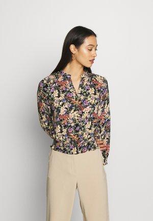 YASWINNY CROP TOP - Pusero - burnished lilac/burnished lilac