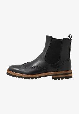 RICHARDS - Kotníkové boty - black