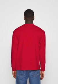 Tommy Jeans - Long sleeved top - deep crimson - 2