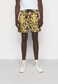 Versace Jeans Couture - CAMEO ALLOVER  - Shorts - black - 0