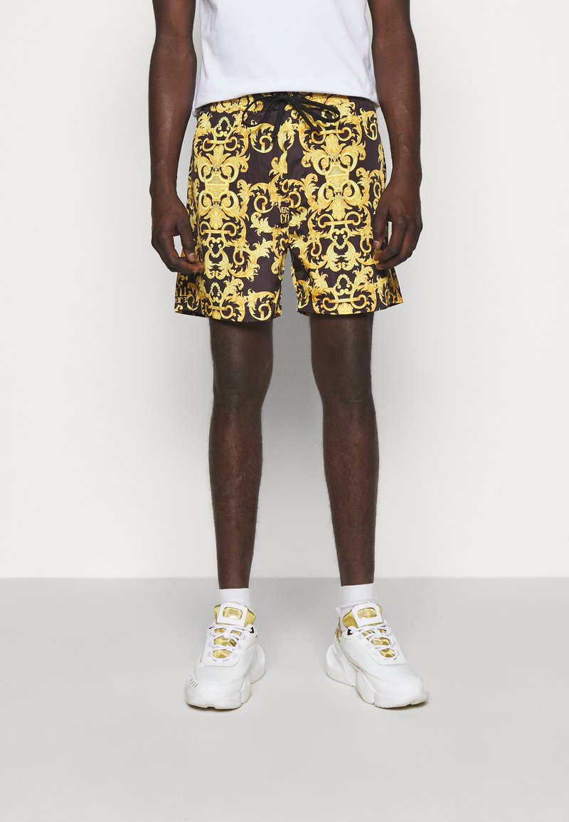 Versace Jeans Couture - CAMEO ALLOVER  - Shorts - black