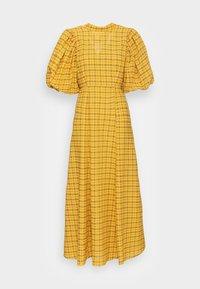 Selected Femme - SLFCHECKIE 2/4 ANKLE DRESS G - Maxiklänning - arrowwood - 3