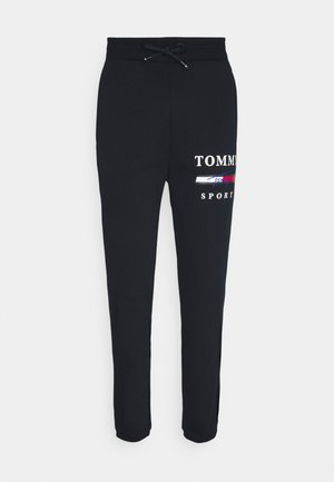 GRAPHIC PANT CUFFED - Tracksuit bottoms - blue