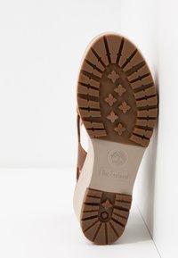 Timberland - KORALYN CROSS BAND - High heeled sandals - rust - 4