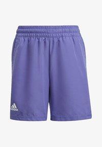 adidas Performance - CLUB TENNIS SHORTS - Sports shorts - purple - 0