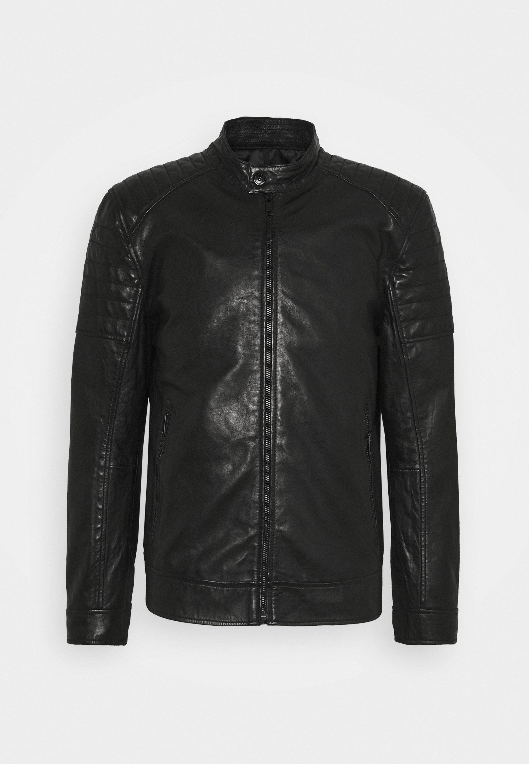 Men DERRY - Leather jacket