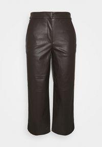 mine to five TOM TAILOR - PANTS - Pantalones - dark oak brown - 3