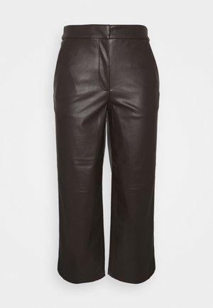 PANTS - Pantalones - dark oak brown