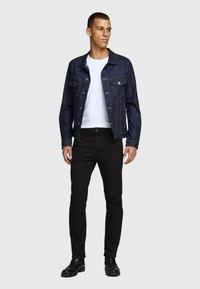 Jack & Jones - JJICLARK JJORG - Jeans straight leg - black - 1