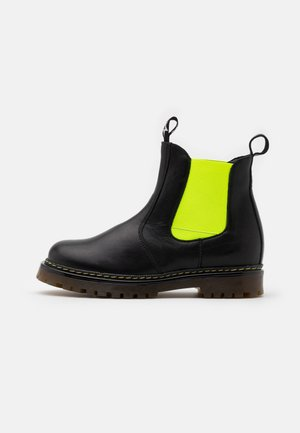 ELI CHELYS NAROW FIT UNISEX - Korte laarzen - black/yellow