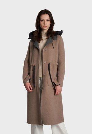 LIMA BI - Classic coat - beige grey