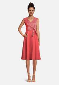 Vera Mont - Day dress - red/white - 0