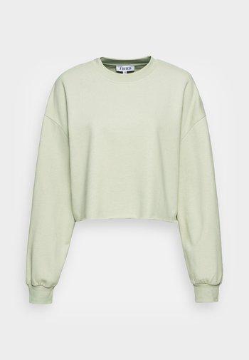 RENATA SWEATER - Sweatshirt - desert sage green