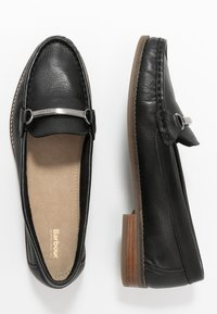 Barbour - ELSIE - Nazouvací boty - black - 3
