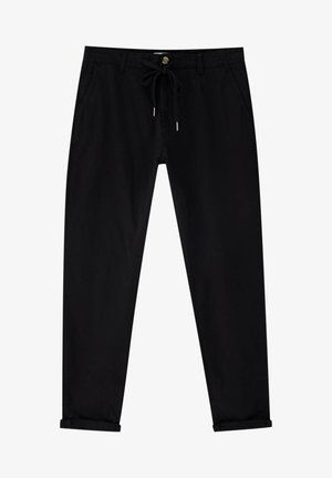 SLIM FIT - Chino kalhoty - black
