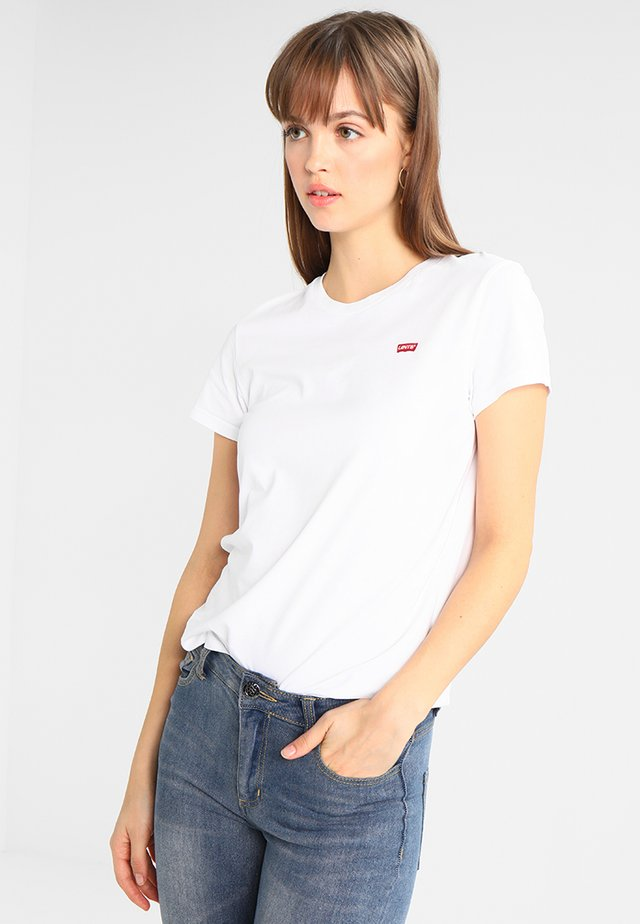 PERFECT TEE - Camiseta básica - white