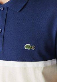 Lacoste - Polo shirt - bleu/beige - 2