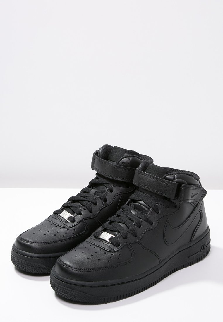 air force 1 mid noir