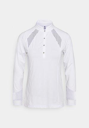 LINNEA - Bluzka z długim rękawem - white