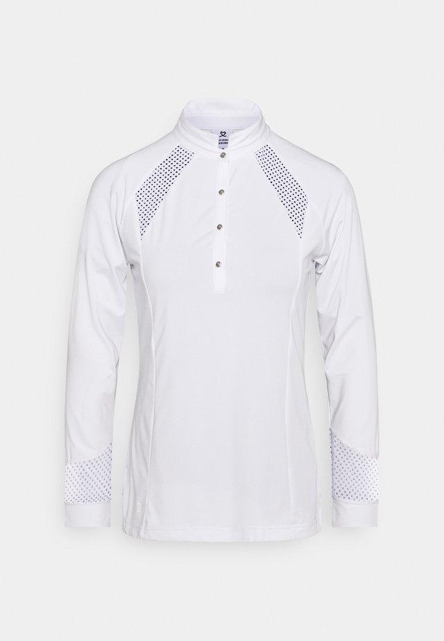 LINNEA - Maglietta a manica lunga - white