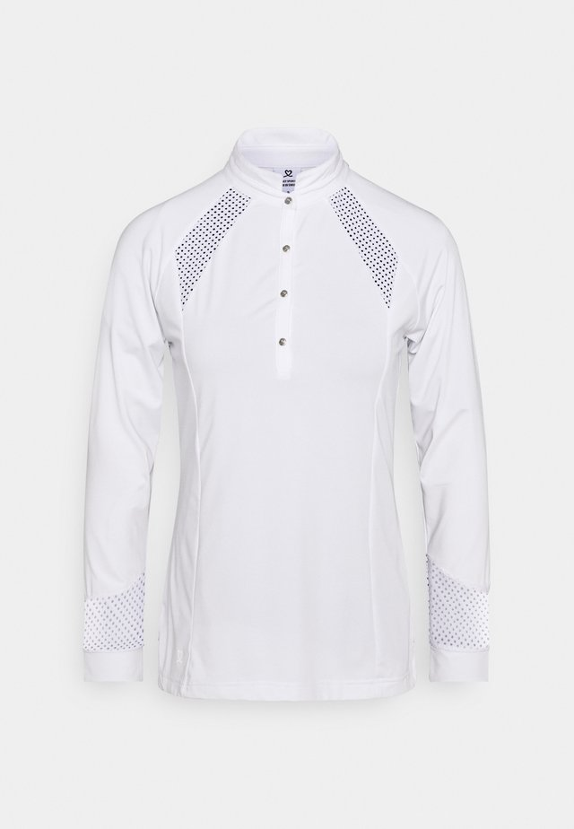 LINNEA - Camiseta de manga larga - white