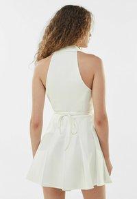 Bershka - Cocktail dress / Party dress - white - 2