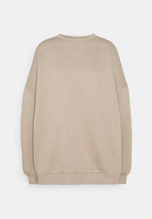 PERFECT OVERSIZE - Sweatshirt - beige