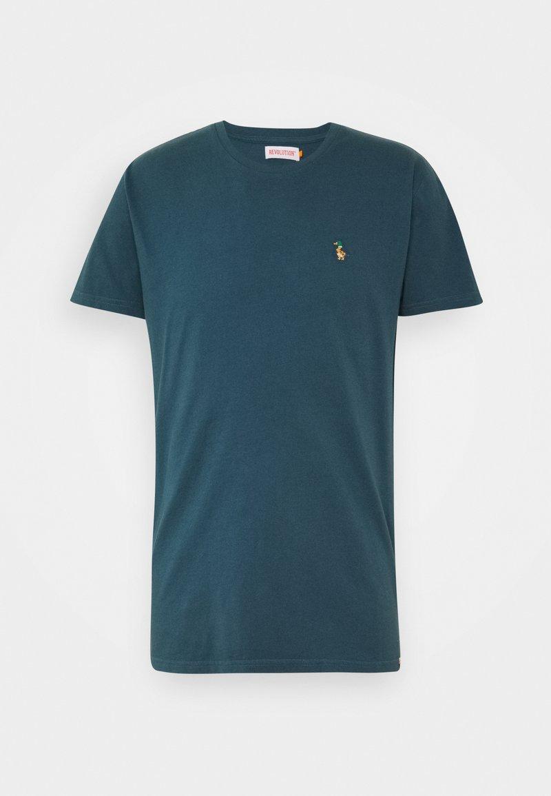 REVOLUTION - Print T-shirt - navy