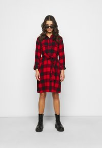 GAP - UTILITY DRESS - Shirt dress - red - 1