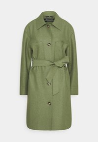 BOILED  - Classic coat - dried sage