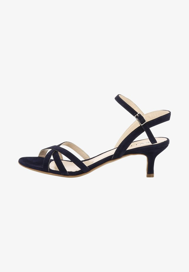 GIOIA - Sandals - dark blue
