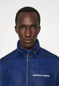 Emporio Armani - BLOUSON JACKET - Summer jacket - blu navy - 4