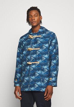 GLOVERALL UNISEX DUFFLE - Classic coat - navy