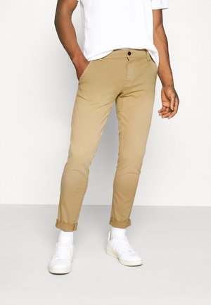 SCANTON DITSY PATTERN PANT - Bukser - classic khaki